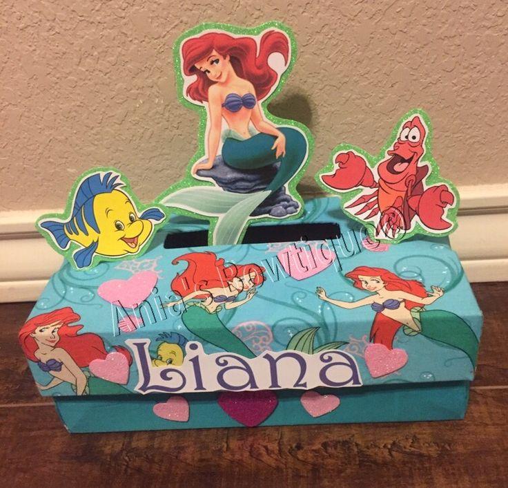 Ariel Mermaid Valentine Box Valentines Pinterest Mermaids Valentines And Ariel Mermaid