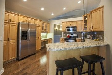 Accessible Beige Beige Paint And Maple Cabinets On Pinterest