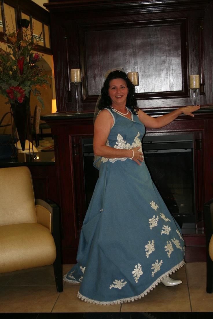 25 Best Ideas About Denim Wedding Dresses On Pinterest