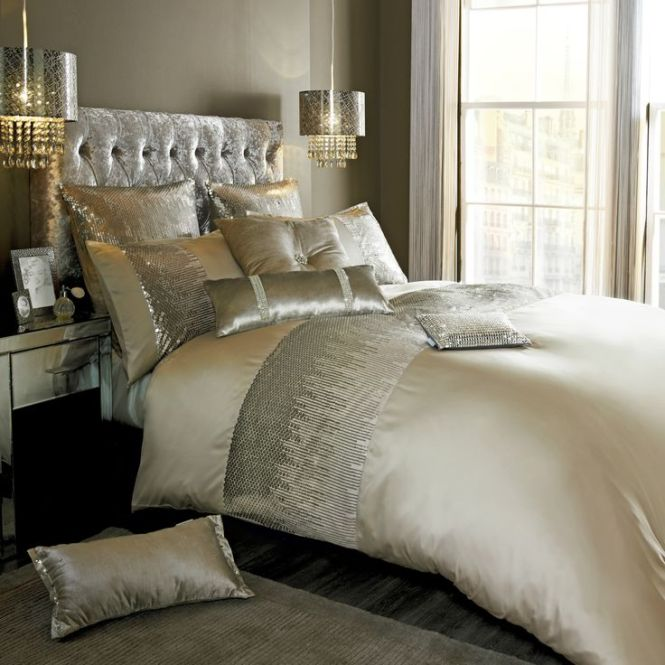 Designer Duvet Cover Sets In Double King Or Super Sizes From The Kylie Minogue Vida Bedding Set Range Pillowcases And Accessories Available