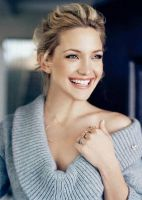 Kate Hudson natural eyes, smile that shines - I think she would be perfect to play Tessa Scott.