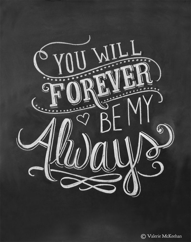 Wedding Print – You Will Forever Be