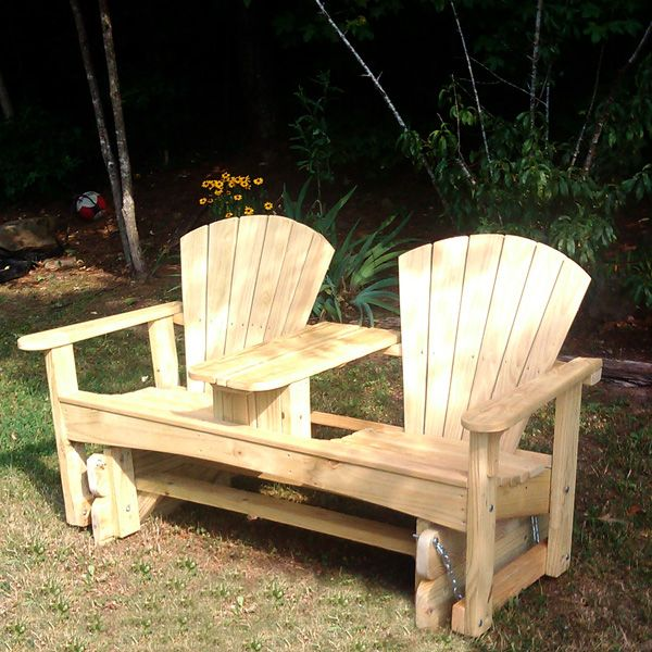 Adirondack Glider Chair Woodworking Plans WoodWorking