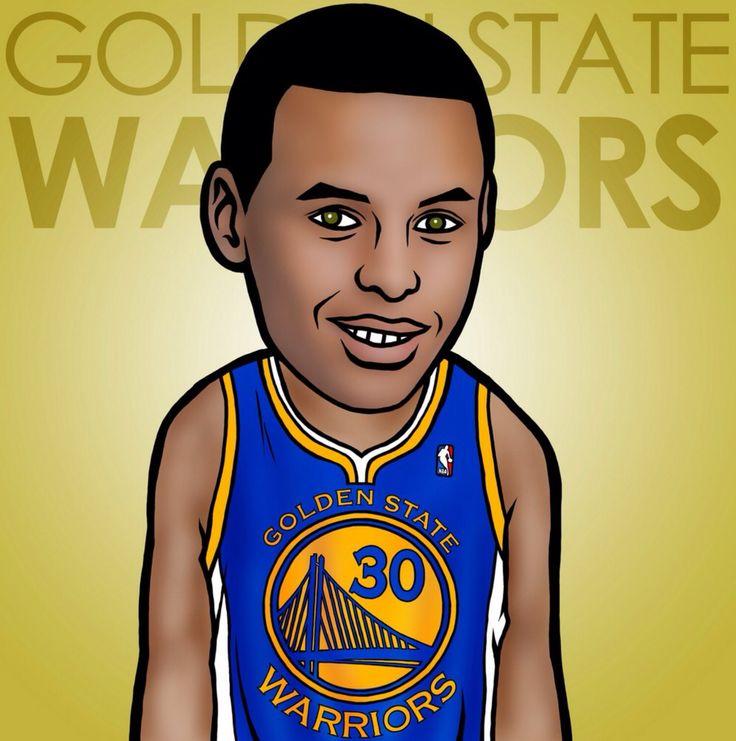 Stephen Curry NBA Cartoon Image Pinterest Stephen