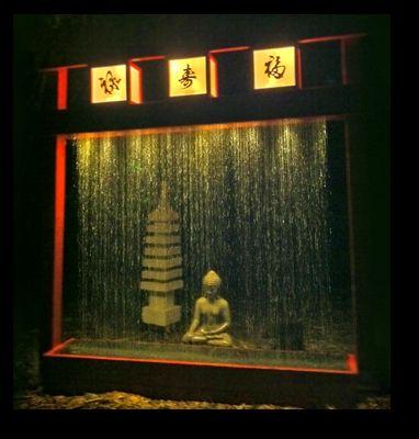 Build A Rain Curtain Water Fountain With Our Diy