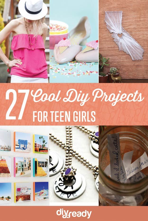 Teen DIY Projects for Girls Teen and Easy diy crafts