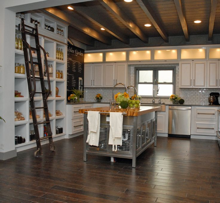 1000 Images About Kitchen Rolling Ladder On Pinterest Shelves That Slide Cabinets And Wood