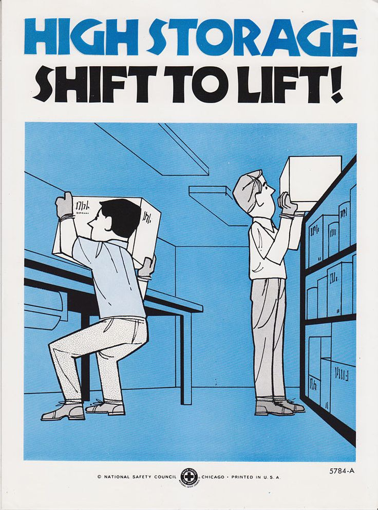 Vintage Workplace Safety Poster 1960s National Safety