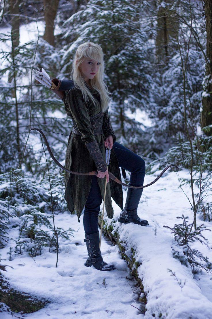 Silvan Elf Stock 8 By Liancary Stock Female Ranger