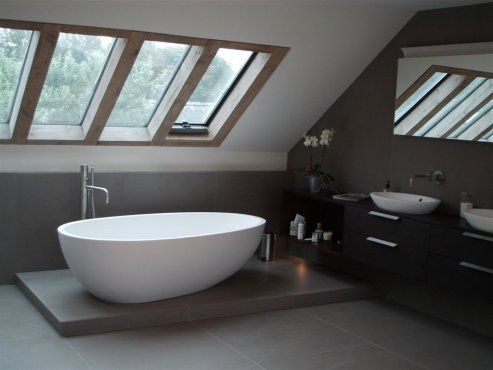 Timber Framed Roof Lights In Bathroom By RJA Beautiful Skylights Wood Frame Skylights