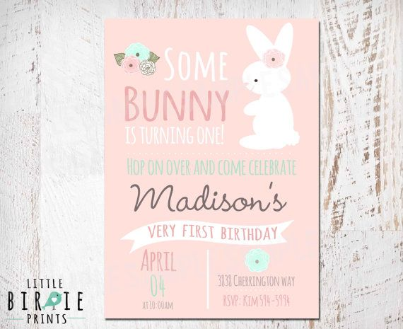 25 Best Ideas About Bunny Birthday On Pinterest Easter