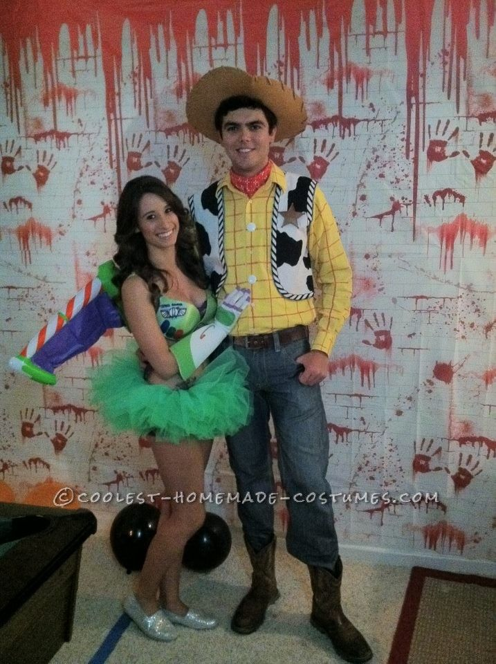 for DIY Costume Lovers Sexy, Woody and buzz and Homemade