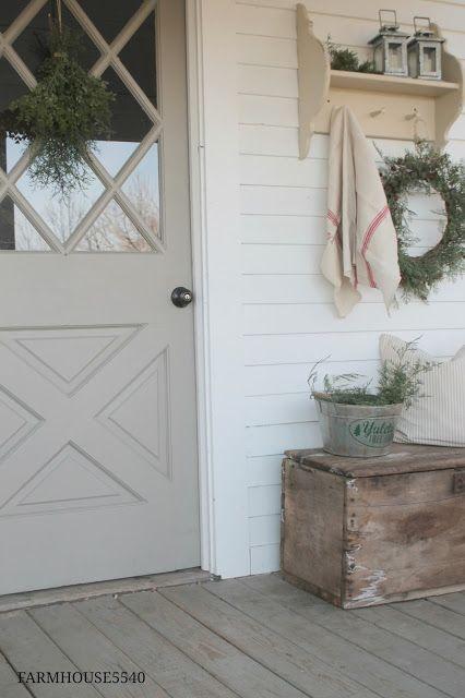 17 Best Ideas About Farmhouse Front Doors On Pinterest