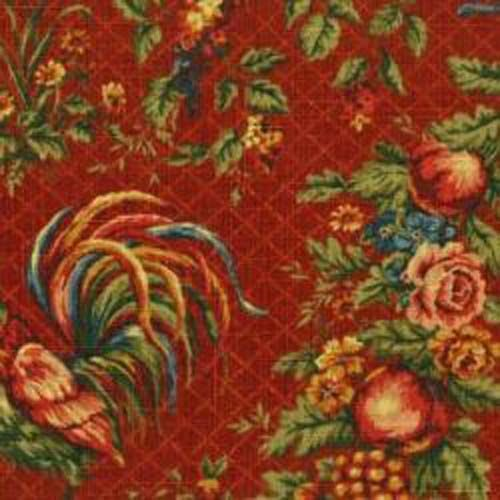 Bordeaux Roosters And Toile On Pinterest