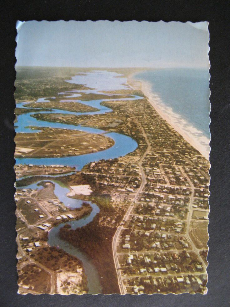 Broadbeach 1960s goldcoast beach australia Vintage