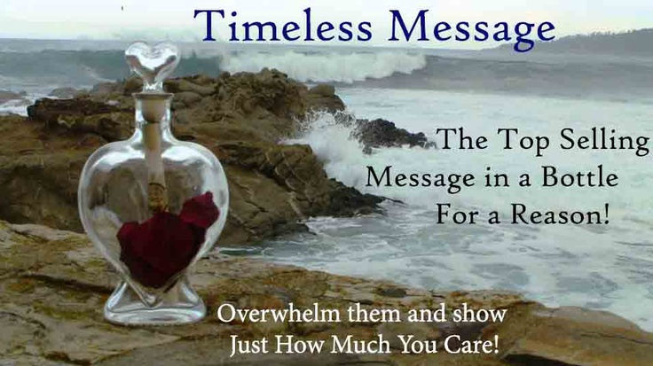 Message In A Bottle By Timeless Message A Personalized Message In A Bottle Gift For Any