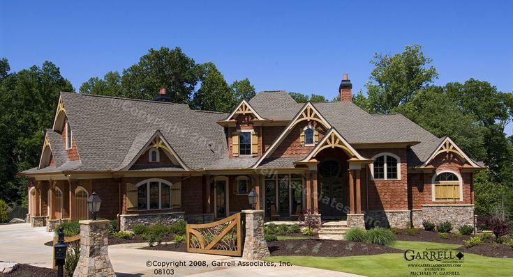 Garrell Associates, Inc. Achasta House Plan, 08103, Front