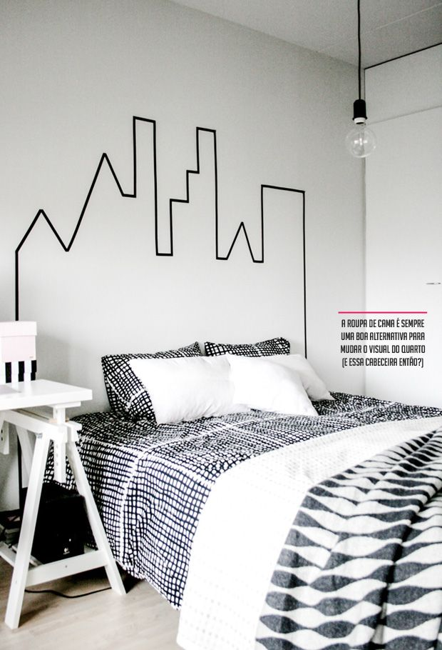 Petersons Perspective : Washi Tape Graphics On Your Walls
