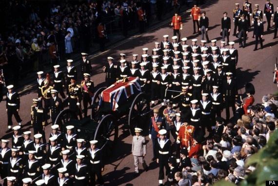 1979 - Funeral Lord Louis Mountbatten   My history ...