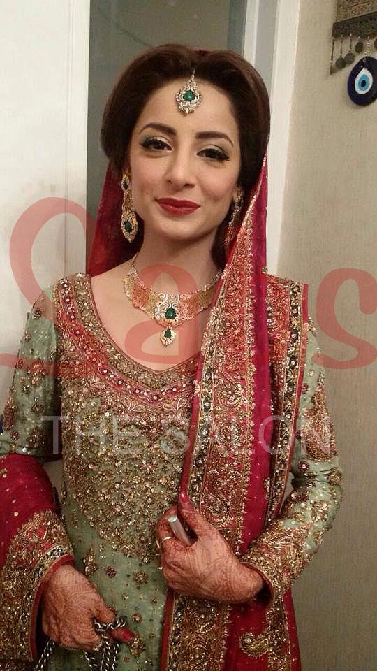 Sarwat Gillani Wedding Makeup By Qadir At Sabs Salon