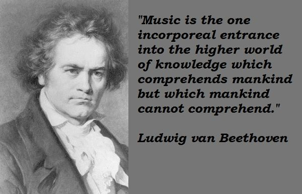 Ludwig Van Beethoven Quotes By @quotesgram
