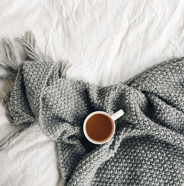 relaxing / tea in bed / cosy: