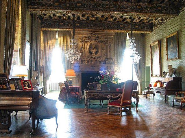 Chateau De Brissac Interior Found On