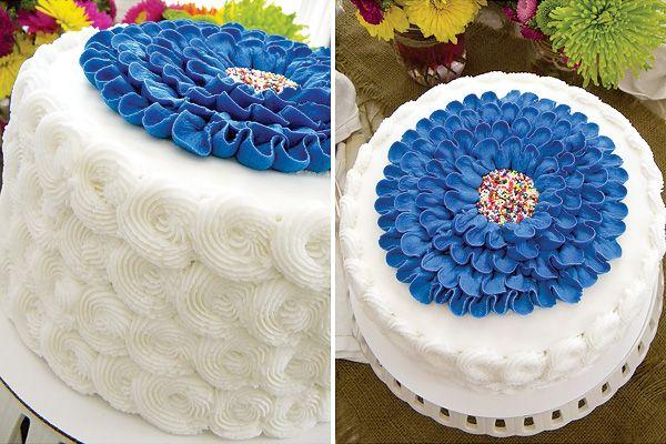 Trend Alert: Designer Buttercream Frosted Cakes