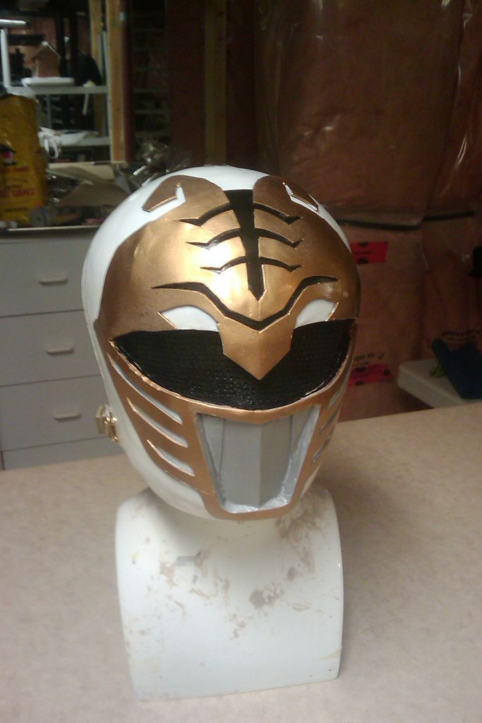 How to make a power rangers helmet. Im going to alter this to make my knight helmet