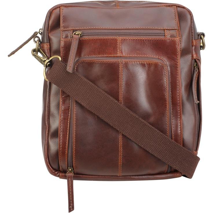 Men's Pelle Studio Leather Top Zip Day Bag Studios, Day
