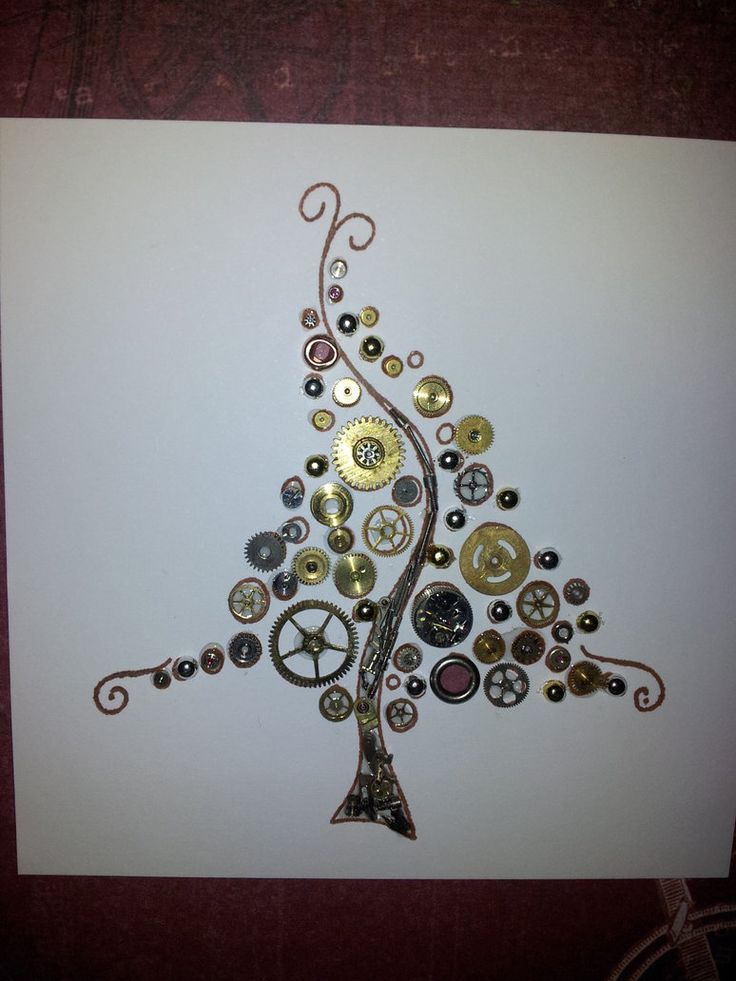 17 Best Images About STEAMPUNK CHRISTMAS CARDS On