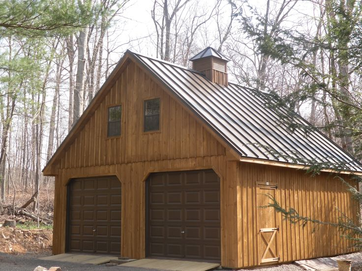 Borad And Batten Siding With Standing Seam Roof Two