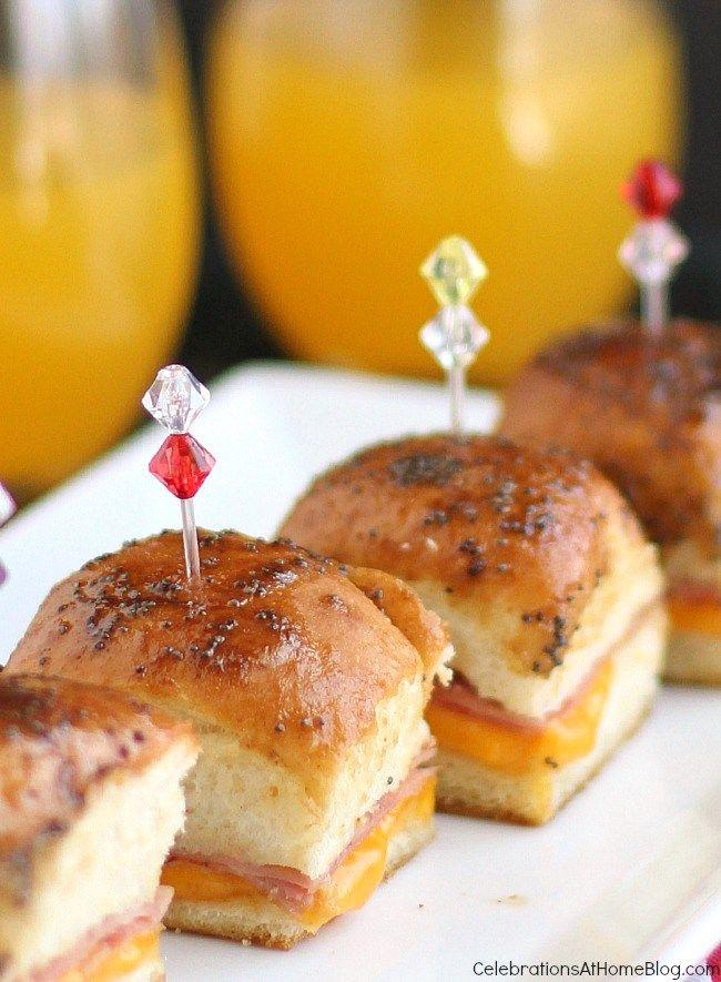 25 Best Ideas About Mini Party Sandwiches On Pinterest