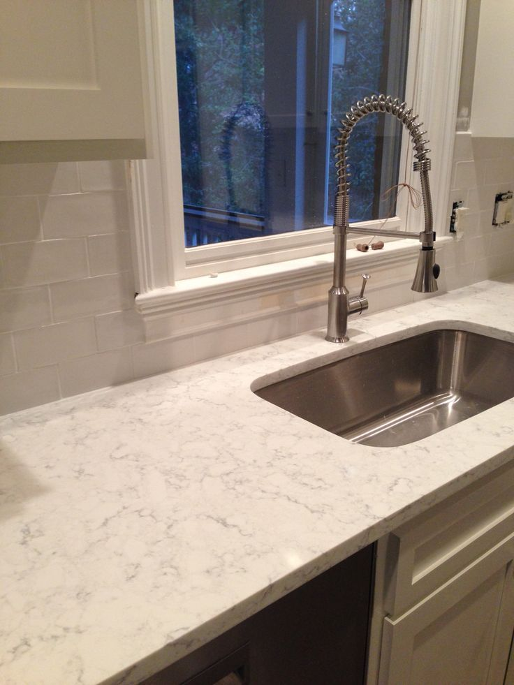 Minuet Quartz With White Dove Cabinets Google Search
