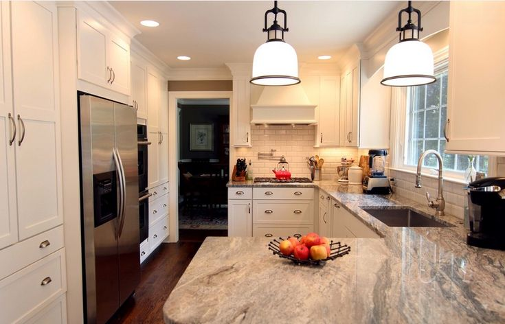 Another Example Of Piracema White Granite Kitchen