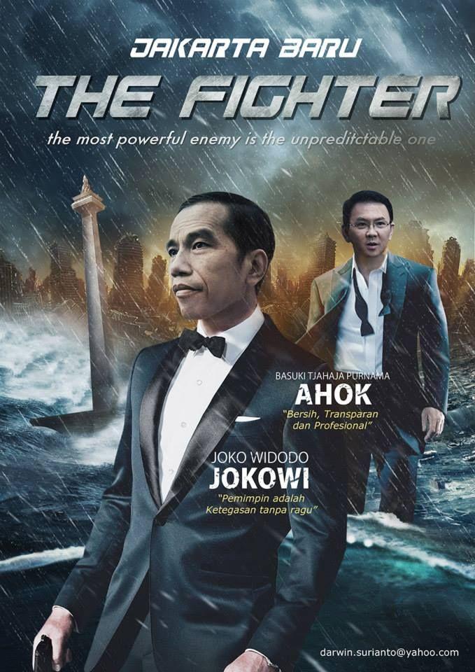 Jokowi and Ahok on Jakarta Baru The Fighter Funny