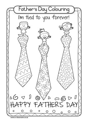 Free Worksheet Fathers Day Colouring 2jpg 283400