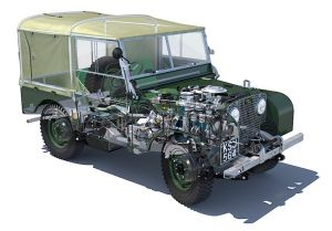 1950 Land Rover 80 Series | Driven | Pinterest | Land
