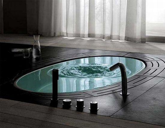 Floor Level Bathtub DESIGN Awakened Pinterest The