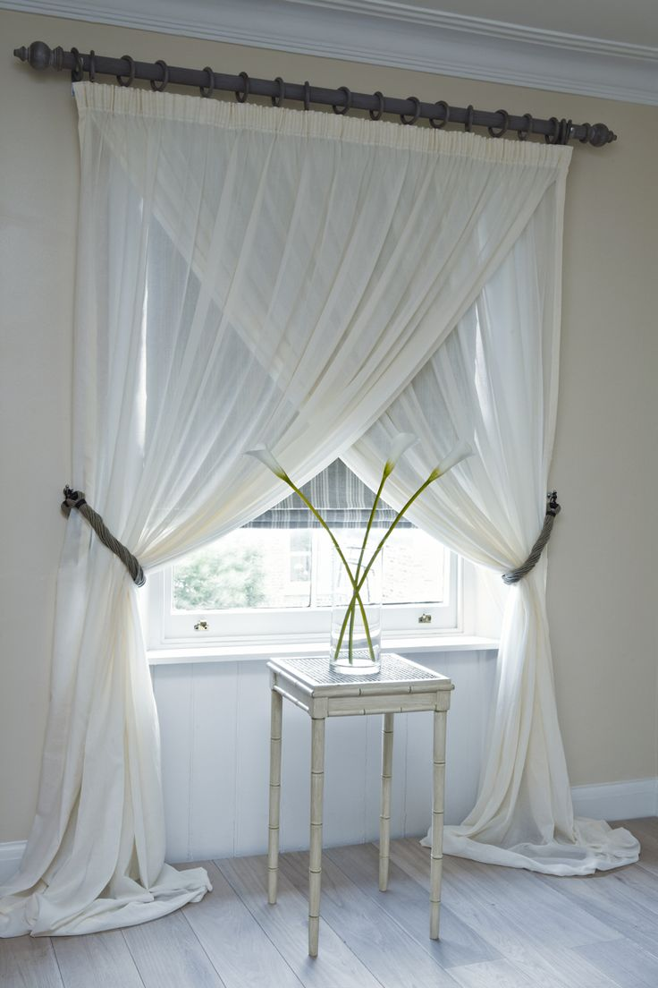 Overlapping sheer panels - ohh so romantic