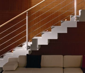 Stainless Steel Railing Building Stairs And Railings On