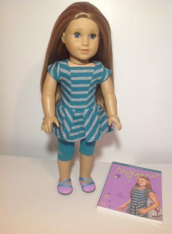 Mckenna American Girl Doll 2012 Doll Of The Year