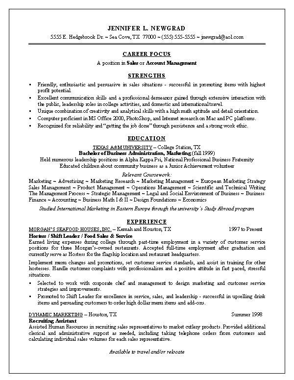 Resume samples for all job titles, articles, and career