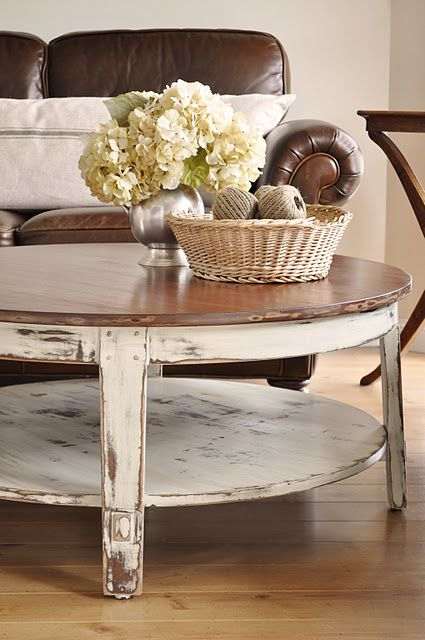 LOVE this table… And the pillow on the couch… And the bowl with the spools of twine…. Pretty much love EVERYTHING about this