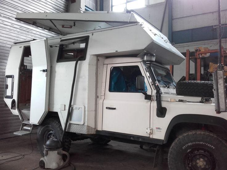 Landy Camper Basis Defender 110 Tdi Land Rover Ambulance