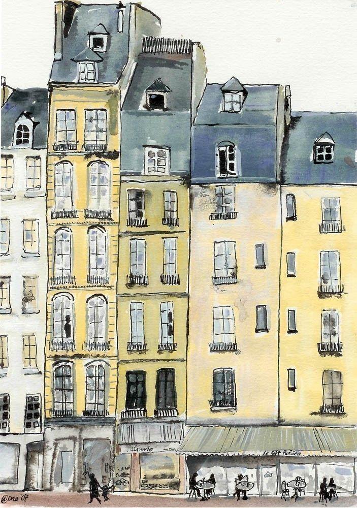 Paris – Illustration, by tubidu