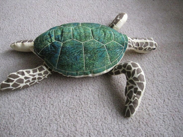 stuffed sea turtle *Tutorial Added* sewing tutorials and