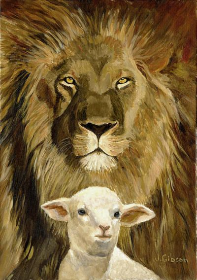94 Best Images About The Lion And The Lamb On Pinterest