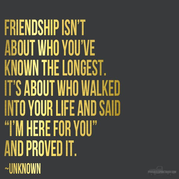 Thats the thing about Friendship, It's a lot rarer then love, because there is nothing in it for anybody.
