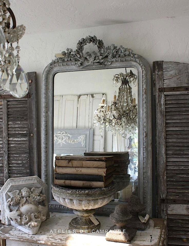vintage mirror and french lovely…